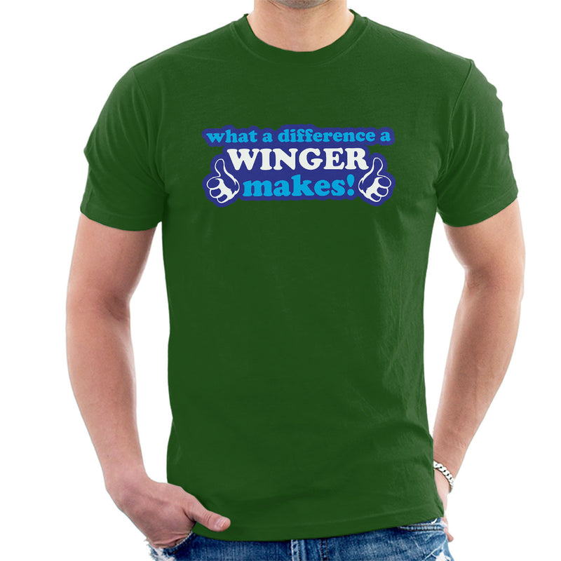 What A Difference A Winger Makes Men's T-Shirt - coto7