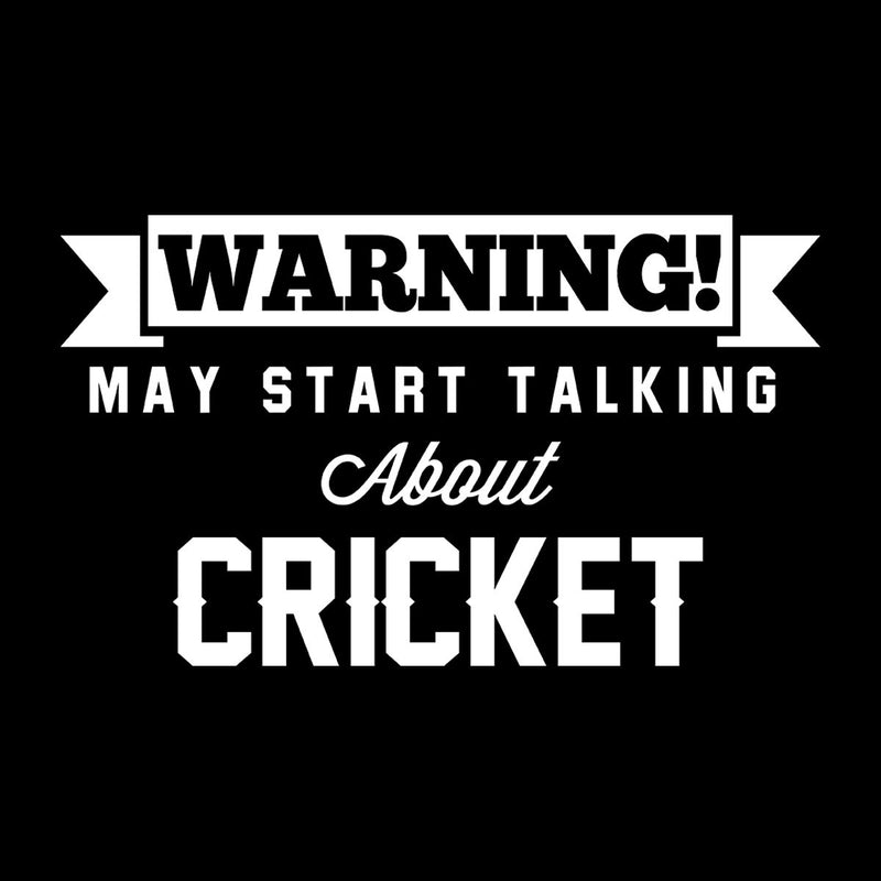 Warning May Start Talking About Cricket Kid's Sweatshirt - coto7