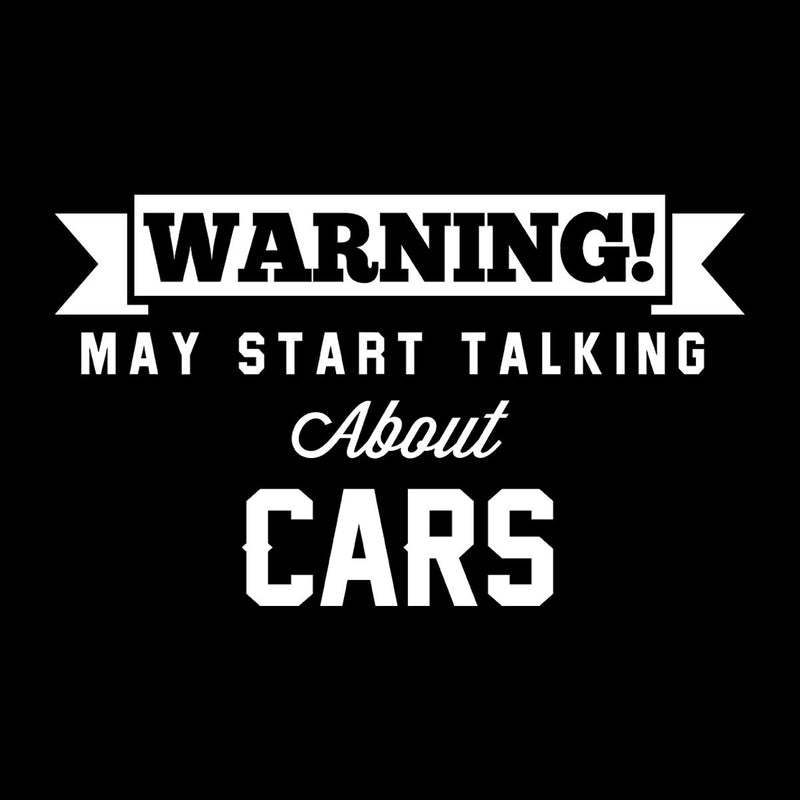 Warning May Start Talking About Cars