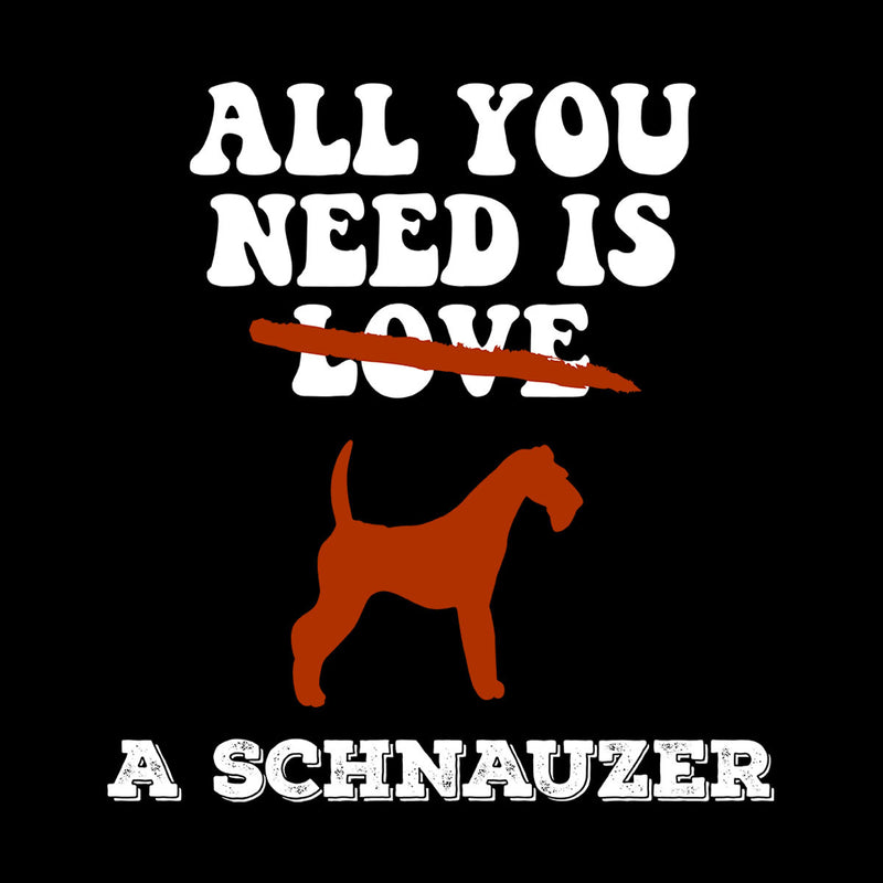 All You Need Is A Schnauzer Men's Hooded Sweatshirt - coto7