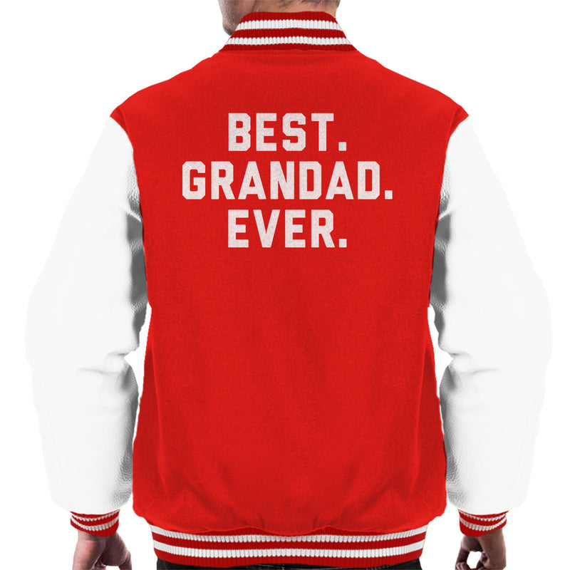 Best Grandad Ever Men's Varsity Jacket - coto7