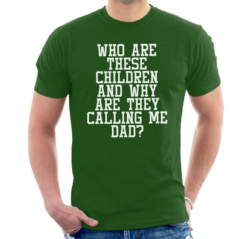Whos Children Are These Men's T-Shirt - coto7