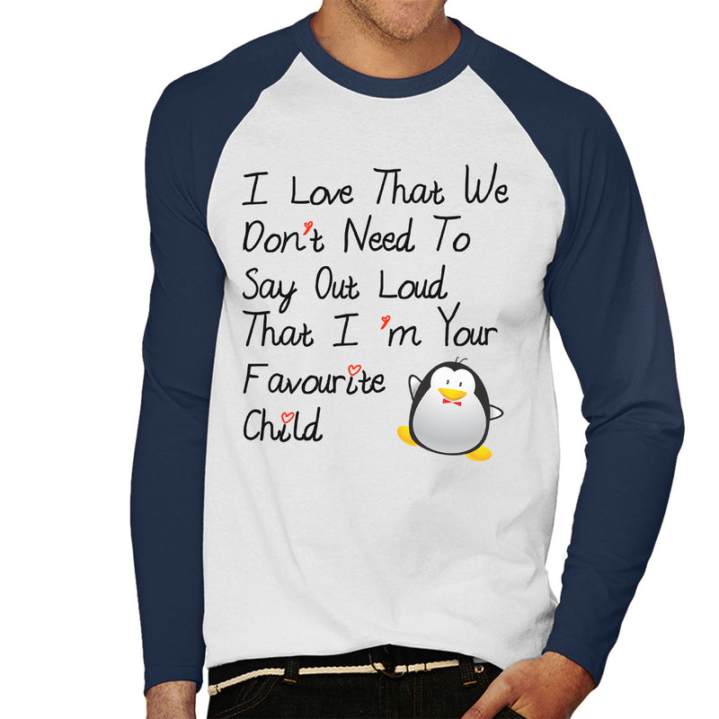 Im Your Favourite Child Men's Baseball Long Sleeved T-Shirt - coto7