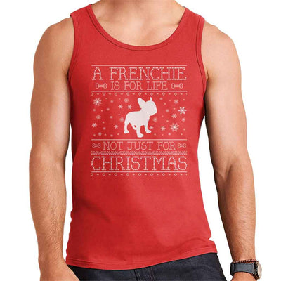 A Frenchie Is For Life Not Just For Christmas Men's Vest