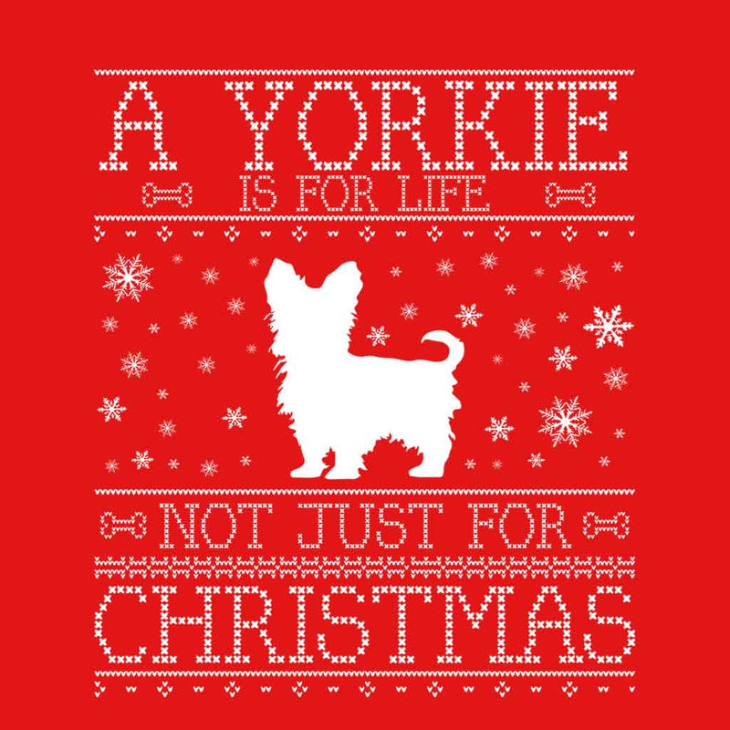 A Yorkie Is For Life Not Just For Christmas