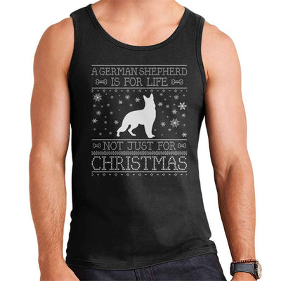 A German Shepherd Is For Life Not Just For Christmas Men's Vest - coto7
