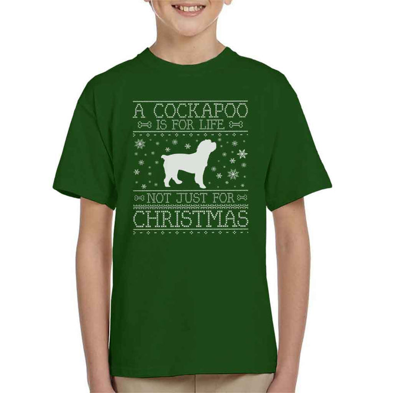 A Cockapoo Is For Life Not Just For Christmas Kid's T-Shirt - coto7