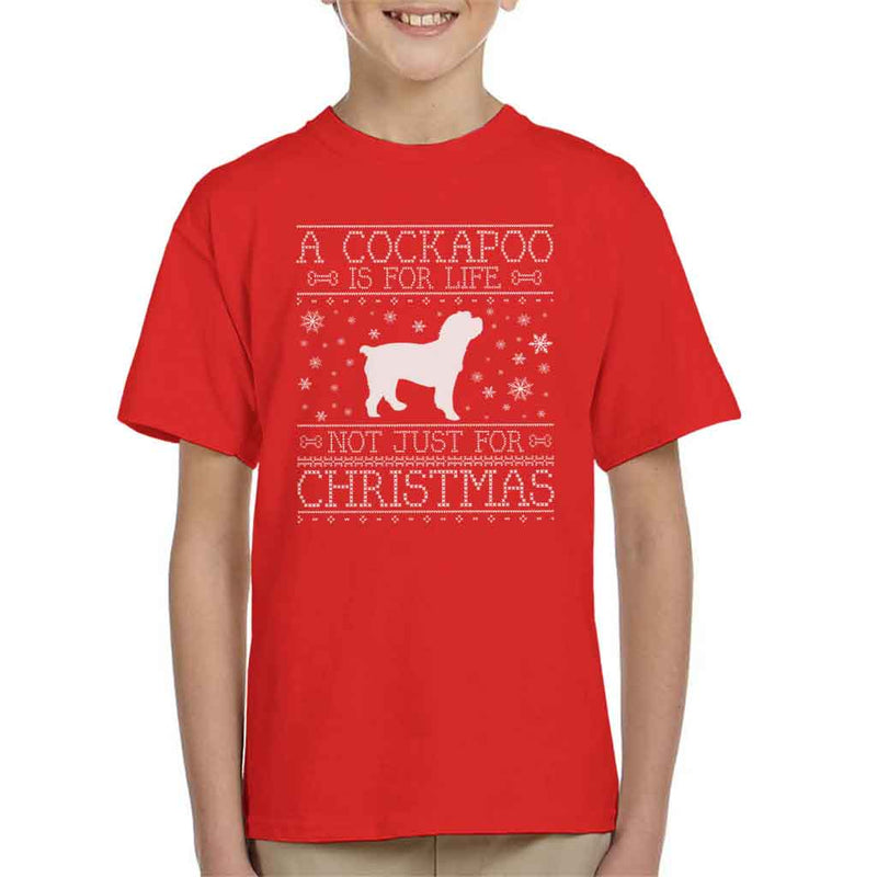 A Cockapoo Is For Life Not Just For Christmas Kid's T-Shirt