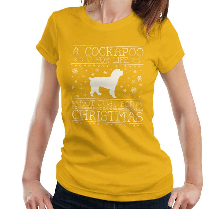 A Cockapoo Is For Life Not Just For Christmas Women's T-Shirt - coto7