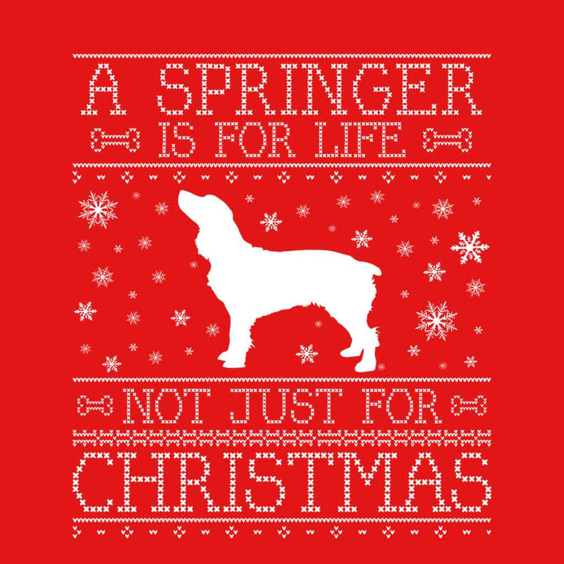 A Springer Is For Life Not Just For Christmas Women's Vest - coto7