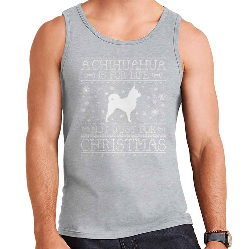A Chihuahua Is For Life Not Just For Christmas Men's Vest - coto7