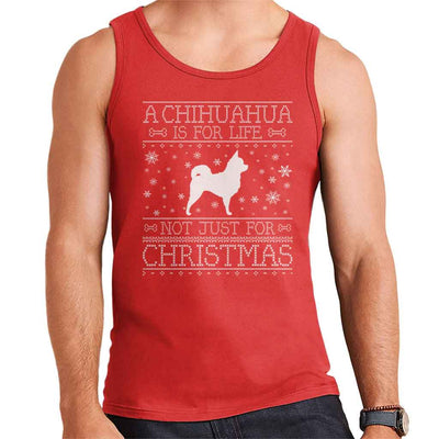 A Chihuahua Is For Life Not Just For Christmas Men's Vest