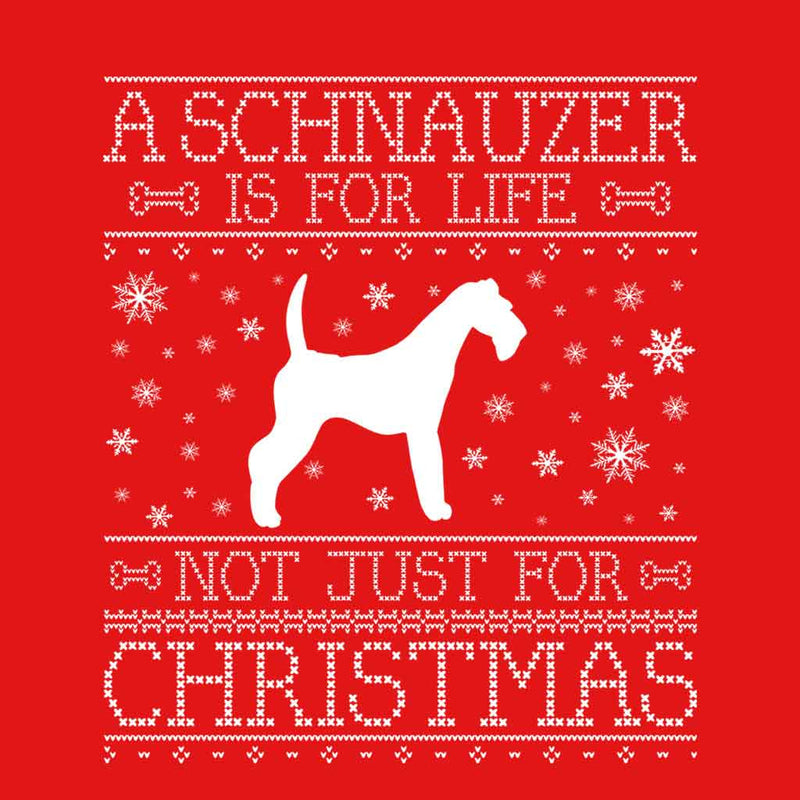 A Schnauzer Is For Life Not Just For Christmas Women's Vest - coto7