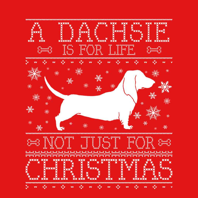 A Dachsie Is For Life Not Just For Christmas Kid's Hooded Sweatshirt - coto7