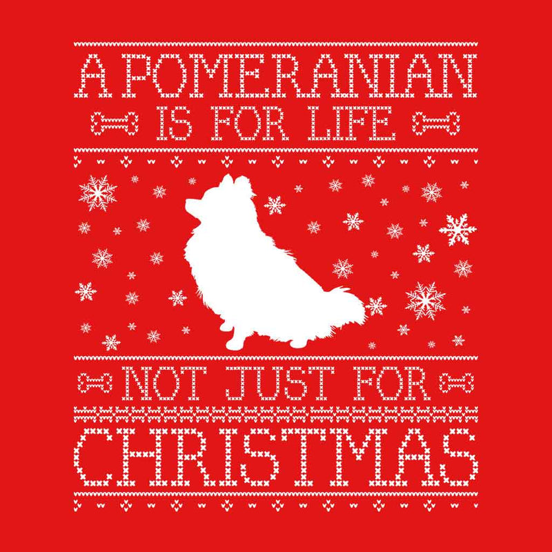 A Pomeranian Is For Life Not Just For Christmas Kid's Hooded Sweatshirt - coto7