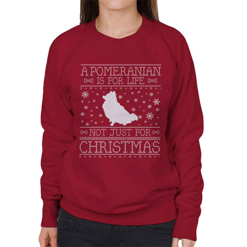 A Pomeranian Is For Life Not Just For Christmas Women's Sweatshirt - coto7