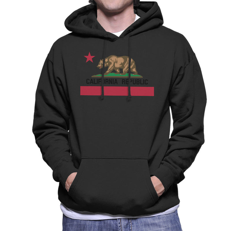 California Republic State Flag Hoodies, Hooded Sweatshirts