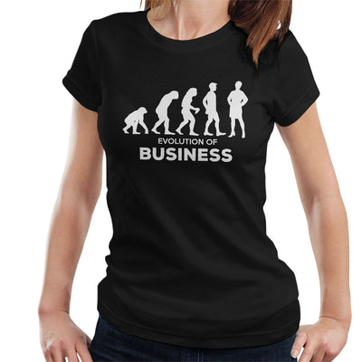 Evolution Of Business Women's T-Shirt - coto7
