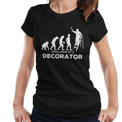 Evolution Of A Decorator Women's T-Shirt - coto7