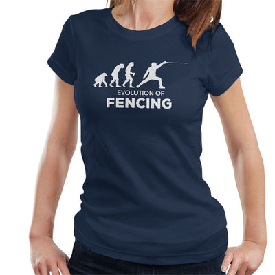 Evolution Of Fencing Women's T-Shirt - coto7