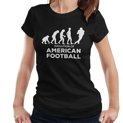 Evolution Of American Football Women's T-Shirt - coto7