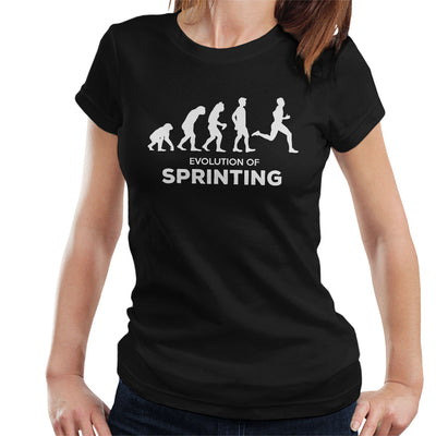 Evolution Of Sprinting Women's T-Shirt - coto7