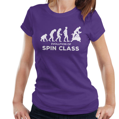 Evolution Of Spin Class Women's T-Shirt - coto7