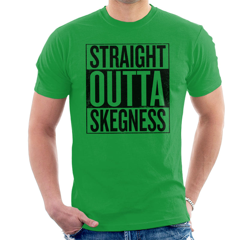 Straight Outta Skegness Men's T-Shirt - coto7
