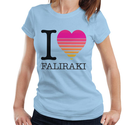 I Heart Faliraki Sunset Women's T-Shirt - coto7