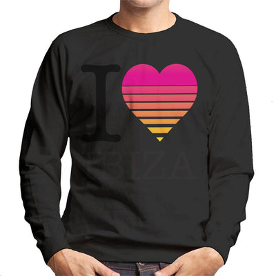 I Heart Ibiza Sunset Men's Sweatshirt - coto7