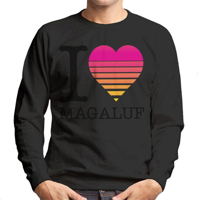I Heart Magaluf Sunset Men's Sweatshirt - coto7