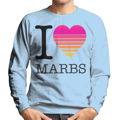 I Heart Marbella Sunset Men's Sweatshirt - coto7