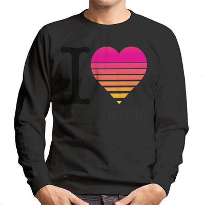 I Heart Skegness Sunset Men's Sweatshirt - coto7