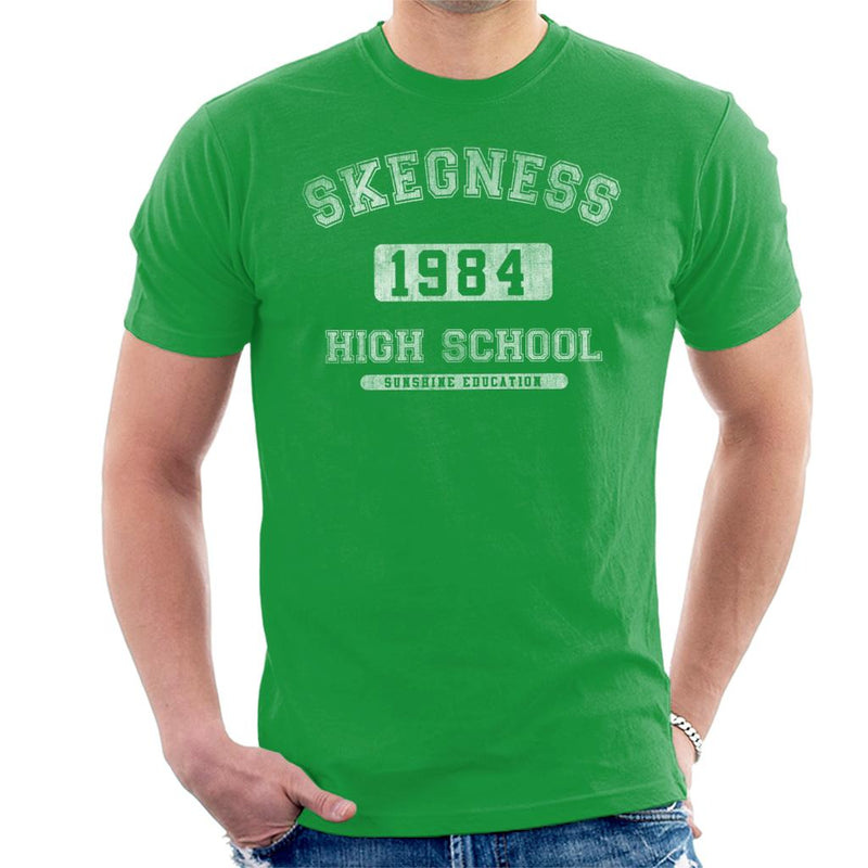 Skegness 1984 High School Sunshine Education Men's T-Shirt - coto7