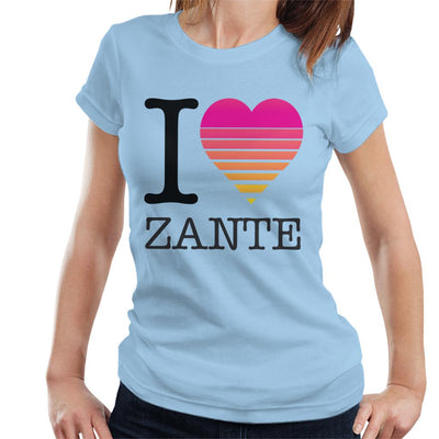 I Heart Zante Sunset Women's T-Shirt - coto7