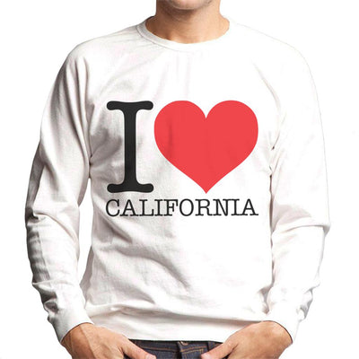 I Heart California Men's Sweatshirt - coto7