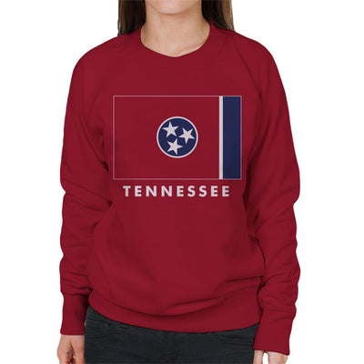 Tennessee State Flag Women's Sweatshirt - coto7