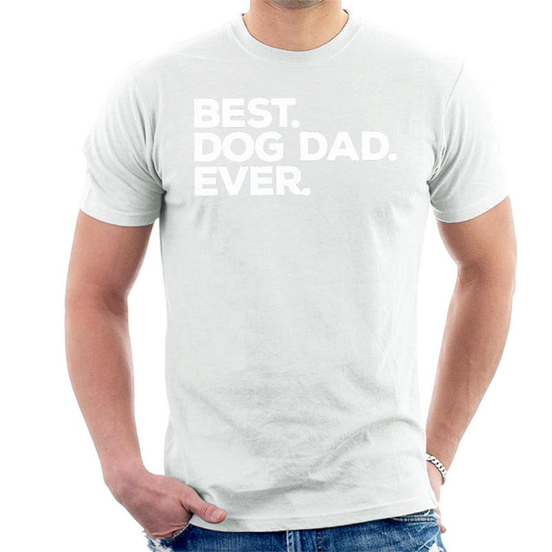 Best Dog Dad Ever Men's T-Shirt - coto7