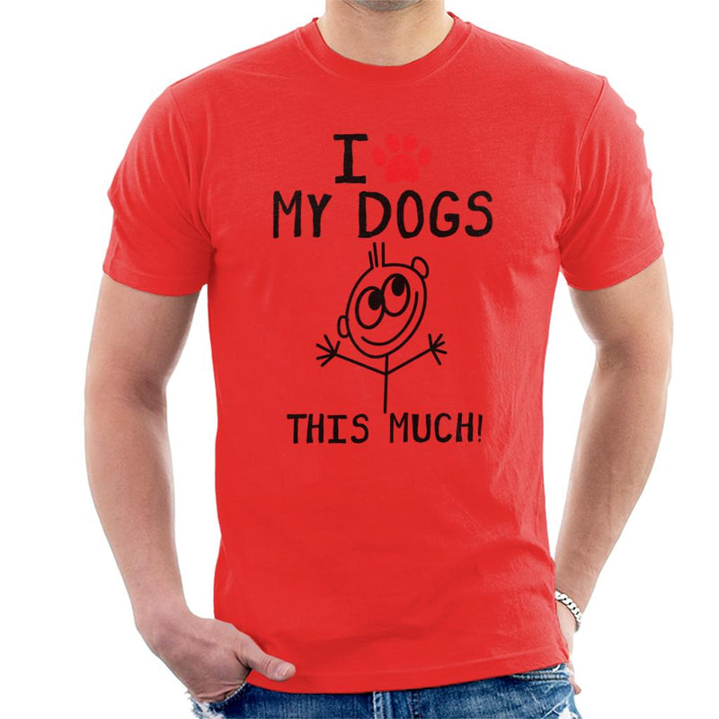 I Love My Dogs This Much Men's T-Shirt - coto7