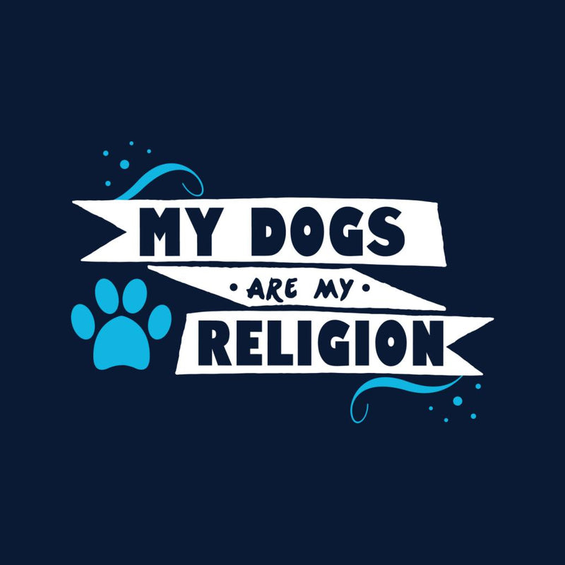 My Dogs Are My Religion Men's T-Shirt - coto7
