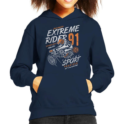 Extreme Rider Kid's Hooded Sweatshirt