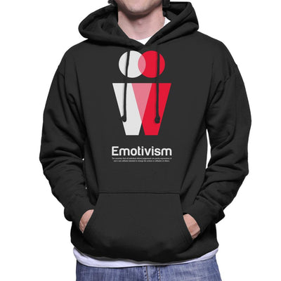 Emotivism Philosophy Symbol Men's Hooded Sweatshirt - coto7