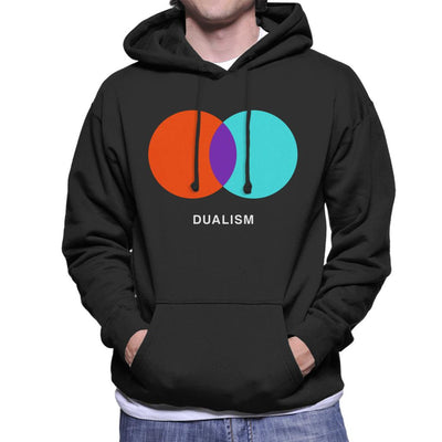 Dualism Philosophy Symbol Men's Hooded Sweatshirt - coto7
