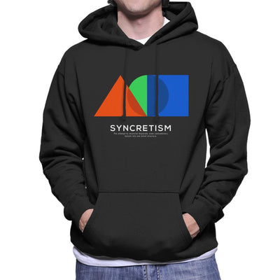 Syncretism Philosophy Symbol Men's Hooded Sweatshirt - coto7