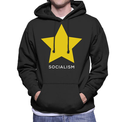 Socialism Philosophy Symbol Men's Hooded Sweatshirt - coto7