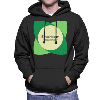 Empiricism Philosophy Symbol Men's Hooded Sweatshirt - coto7