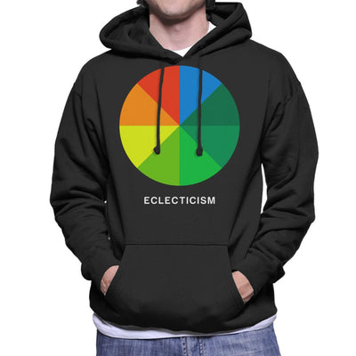 Eclecticism Philosophy Symbol Men's Hooded Sweatshirt - coto7