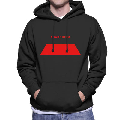 Anarchism Philosophy Symbol Men's Hooded Sweatshirt - coto7