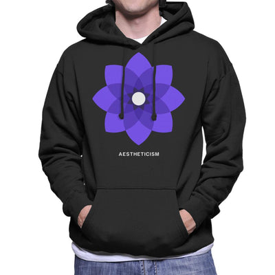 Aestheticism Philosophy Symbol Men's Hooded Sweatshirt - coto7