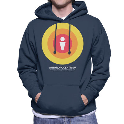 Anthropocentrism Philosophy Symbol Men's Hooded Sweatshirt - coto7